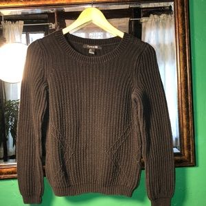 Forever 21 Knitted Crewneck Sweater
